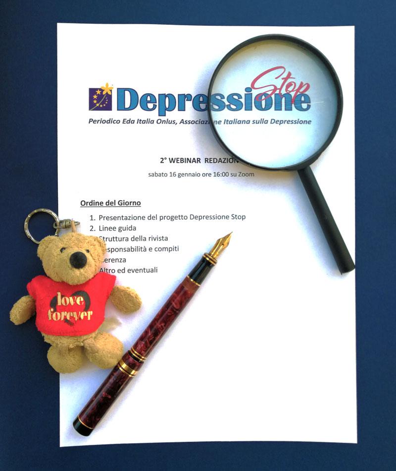 Collabora con noi Depressione Stop