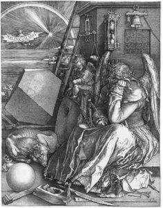PITTURA Durer Melancholia I Leonardo Mendolicchio